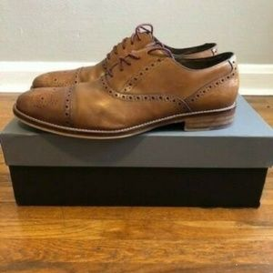Johnston Murphy Conard Cap Toe Dress Shoes 11.5